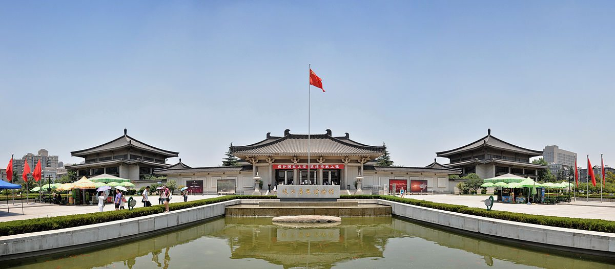 Photograph of Shaanxi history museum - China tours