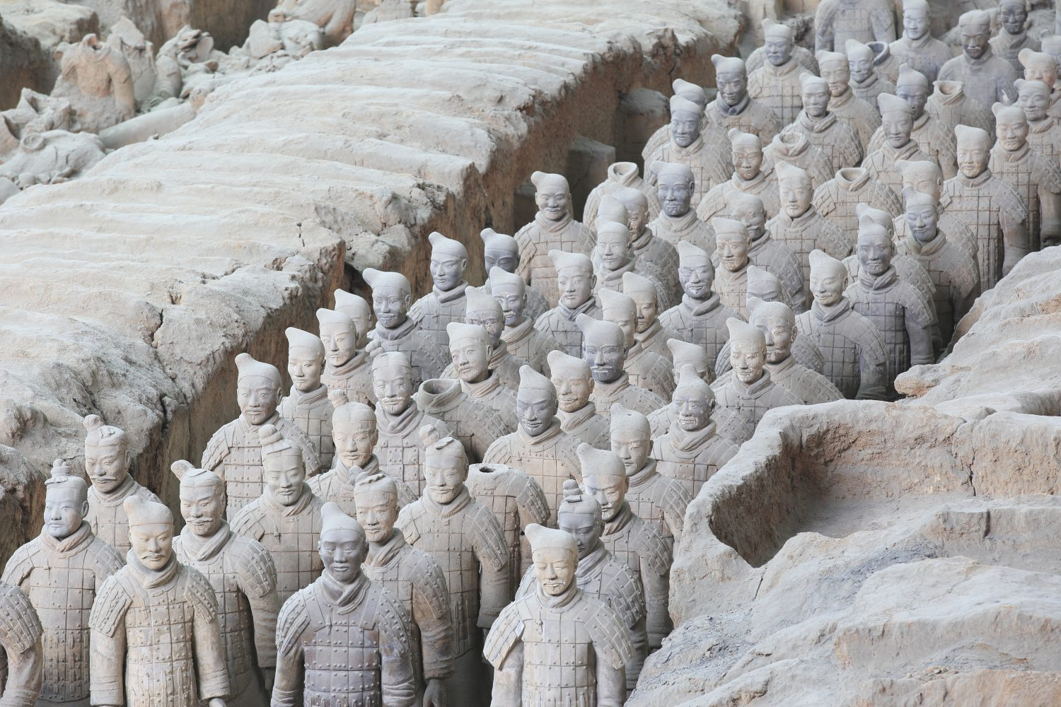 terra cotta warriors xi'an - China travel packages