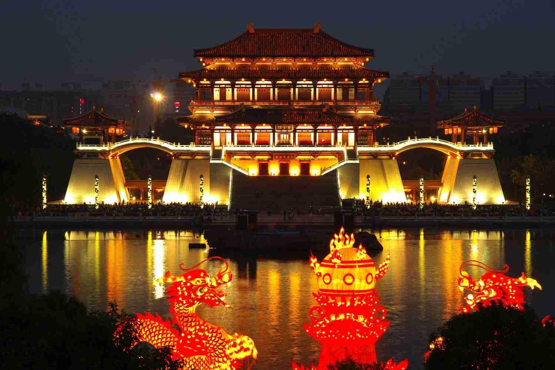 daming palace xi'an - Visit China