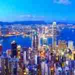 Night view of Hong Kong - China tour operators