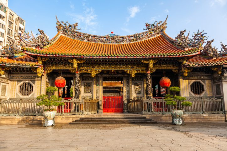 Mengjia Longshan Temple Fujian, China - trips to China