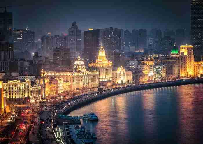 skyline of Shanghai - China Tours