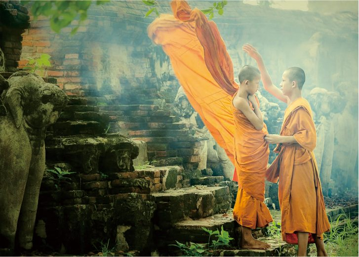 Two Indian monks - China Tours