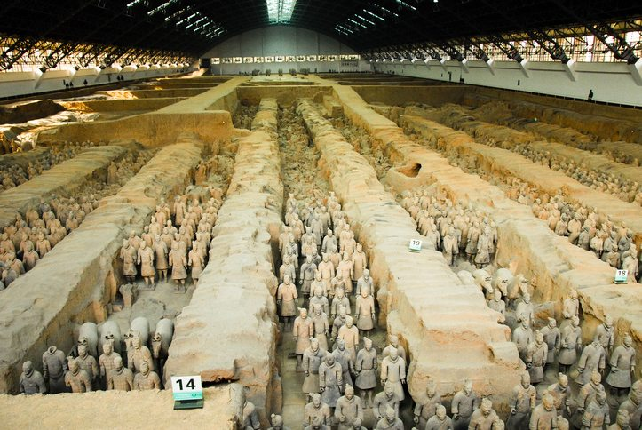 Terracotta warriors of Xian - China travel